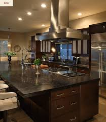 chef kitchen design chef s dream a transitional kitchen before after affinity