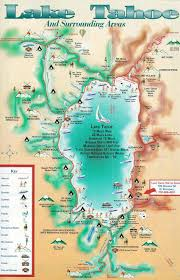 South Padre Island Map Lake Tahoe Map