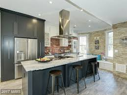 renovated columbia heights rowhouse with stylish kitchen asks 989