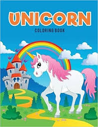 unicorn coloring book coloring pages kids 9781635894240
