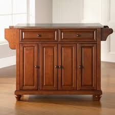 Wood Kitchen Island Table by Shop Kitchen Islands U0026 Carts At Lowes Com