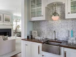 Wet Bar Sink And Cabinets Hammered Wet Bar Sink Transitional Kitchen Milton Development