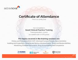 pharmaceutical and clinical research trainings