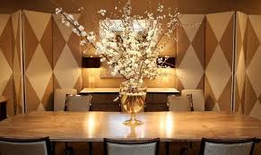 Luxurious Dining Table Luxury Dining Room Furniture Design Donghia Retail Showroom New