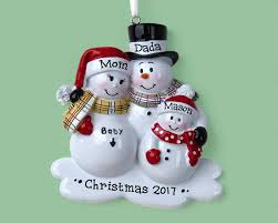 3 expecting family personalized ornament expecting a baby