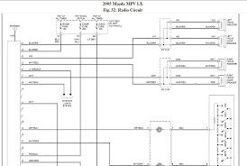 i need a radio speaker wiring diagram for a 2005 mazda mpv lx