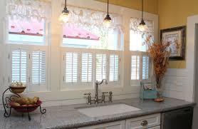 kitchen corner window treatment ideas kitchen window treatment