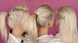 easy ponytail hairstyles for party cool party hairstyles with