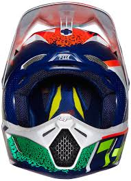 best motocross gear fox bicycle fox v3 divizion helmets motocross orange blue fox