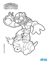skylanders swap force characters colering pages coloring