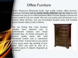 Office Furniture Minnesota by Amish Furniture Prices Amish Showroom