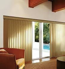 Window Dressing For Patio Doors Patio Door Treatments S Shaped Vertical Blinds Patio Door Window