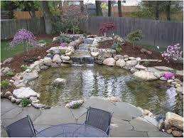 backyards outstanding backyard waterfalls and ponds kits pond