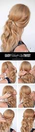 18 easy half up half down hairstyle tutorials for prom gurl com