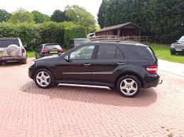 used 2005 mercedes benz m class ml 500 se for sale in worcs