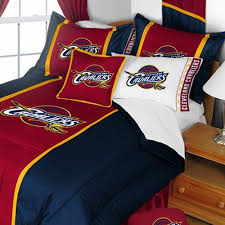 Nba Bed Set Nba Cleveland Cavaliers Bedding Set Basketball Comforter And