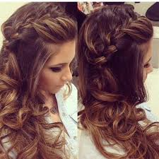 prom hairstyles side curls side ponytail curly low updo wedding guest hairstyles for long