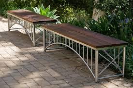 Steel Outdoor Bench 27 Unique And Creative Outdoor Benches For Patio Or Garden