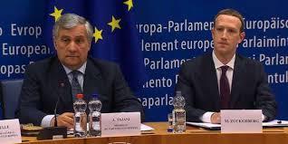 parlement europ n si e scandale cambridge analytica zuckerberg comparaît devant le