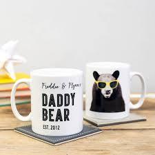 fathers day mug personalised mug images and bears