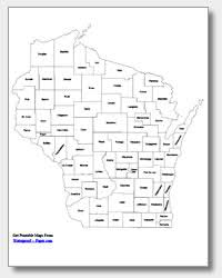 wisconsin map printable wisconsin maps state outline county cities
