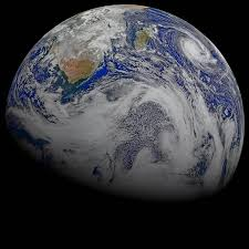 image of hd sky view of earth from suomi npp nasa