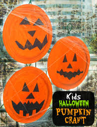easy halloween kid u0027s pumpkin craft