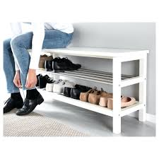 Bench With Baskets White Hall Bench Storage With Baskets White Storage Bench With