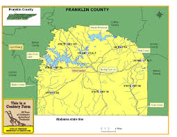 Tennessee Map With Counties by Franklin County Tennessee Century Farms