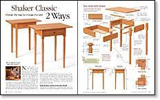Gypsy Shaker End Table Plans F71 On Wow Home Decoration Plan With