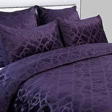 benito velvet bedding aubergine amethyst nicolette bedroom