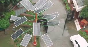 New Solar Power Tree Can Light  Homes In Just  Sq Ft Of Land - Solar powered home designs