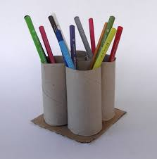 Pencil Holders For Desks Craftsboom Com Toilet Paper Roll Pencil Holder Organizer