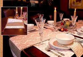 holiday table runner ideas sparkling holiday table runner with corner tassels sew4home