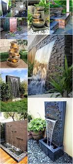 Garden Waterfall Ideas Amazing Modern Ideas For Garden Waterfalls Diy Motive