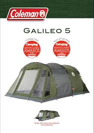 Coleman Porch Awning Coleman Galileo 5 Tent