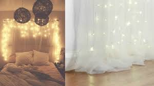 Christmas Lights Behind Sheer Curtain Lighting Curtains Bedroom With Black And White Comforter Yellow