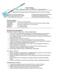 Resume Sample Unix Administrator by Cover Letter Junior Network Administrator Resume Junior Network
