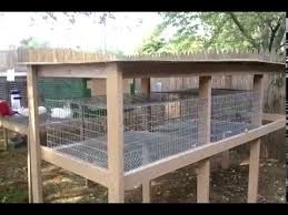 Make A Rabbit Hutch Build A Rabbit Hutch The Roof Youtube