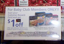 winn dixie u0027s baby club free coupons southern savers