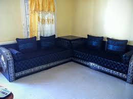 tissu pour canapé marocain salon sejour marocain moderne