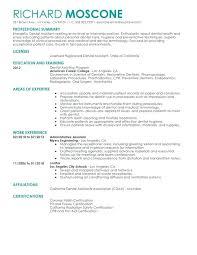 dental assistant resume template resume resumes for dental assistants assistant resume sle