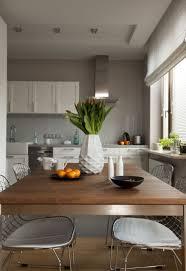 couleur peinture cuisine moderne design interieur peinture cuisine grise armoires blanches cuisine