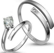 engraved sterling rings images 2018 s 925 sterling silver couple rings engraved cubic zirconia cz jpg