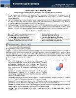 Senior Sales Executive Resume Samples Storeyline Resumes Executive Style Resume Samples