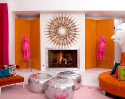 Orange Bedroom Walls Lavish And Luxury Living Room Images And Decoration Style