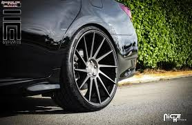 lexus wheels and tires lexus gs 350 niche surge m114 wheels black u0026 machined w dark tint