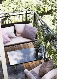 small balcony 15 ideas to furnish with style