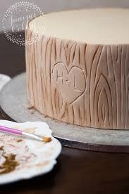 tree bark cake a step by step tutorial on craftsy