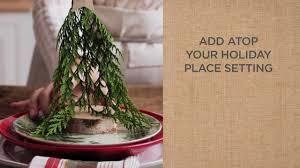 Beautiful Place Settings Ideas To Make Beautiful Christmas Place Settings Pottery Barn